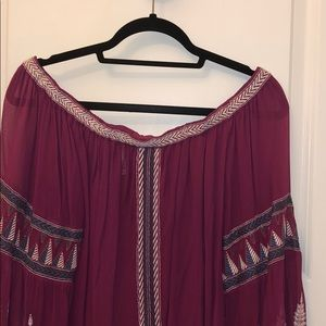 Free People Tops - Free People Off the Shoulder Blouse